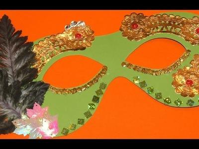 Mágico Antifaz de Hada del Bosque - DIY - Forest Fairy Mask