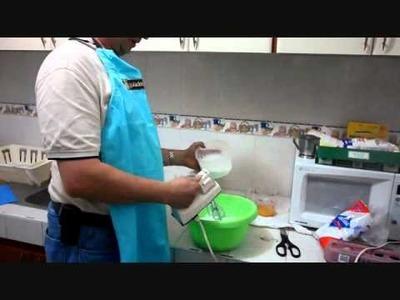 Preparación de suspiros o merengues