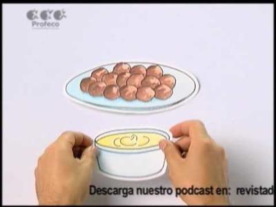 """Trufas de chocolate [""""Tecnología Doméstica Profeco"""" 6.6]"""