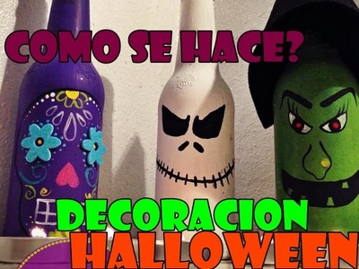 DECORACIÓN HALLOWEEN. HALLOWEENDESING DIY