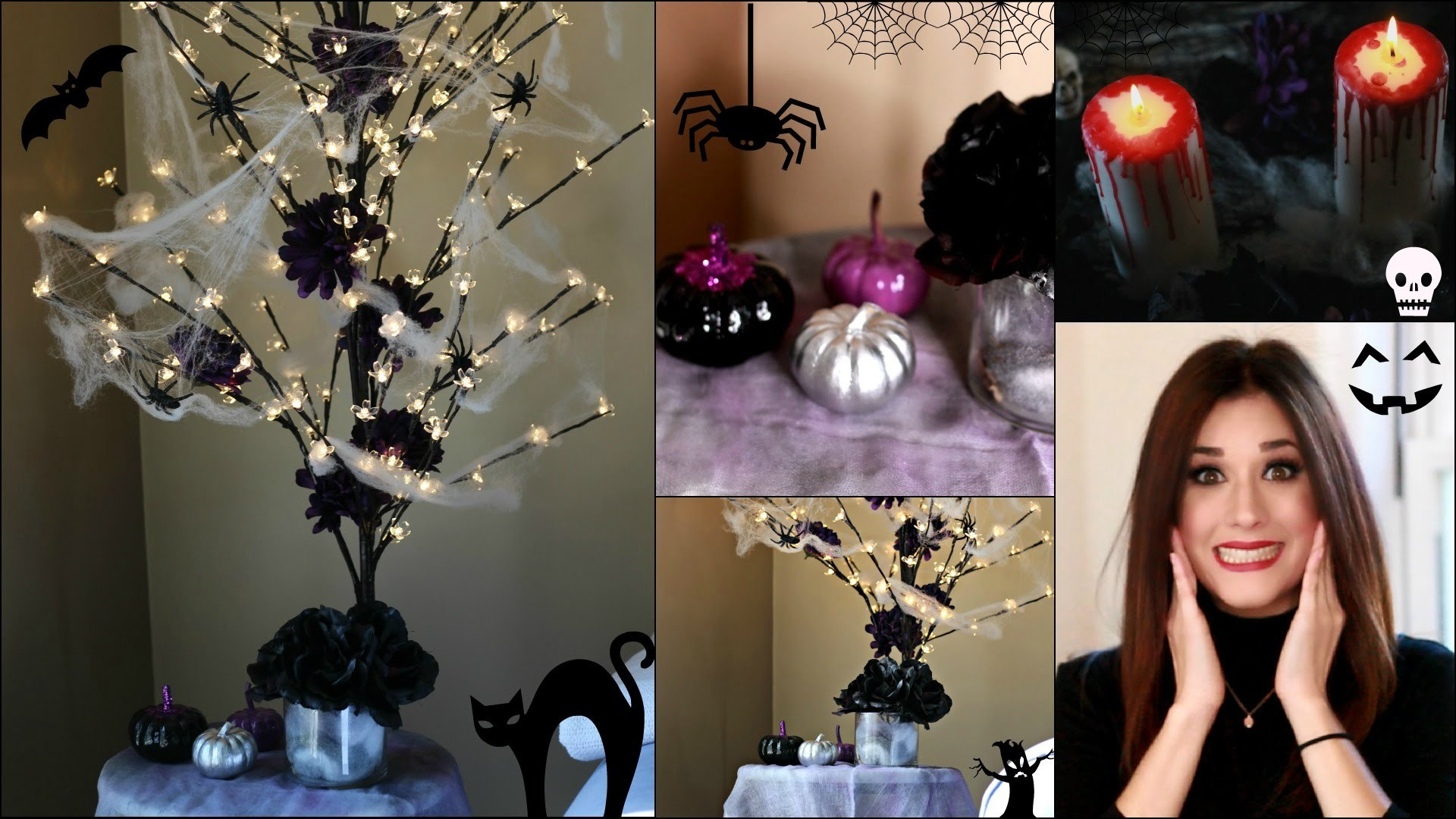 DIY DECORACION PARA HALLOWEEN | HALLOWEEN DECORATION