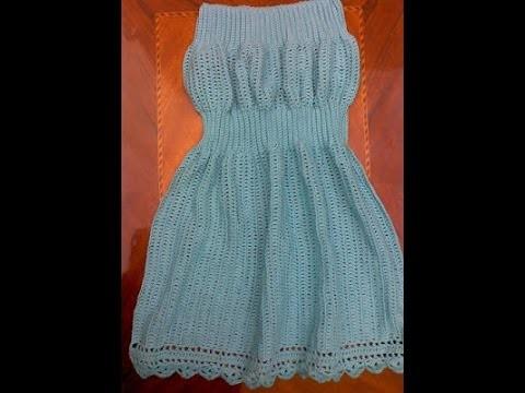 Ejecución de Variación de Punto Pretina en Crochet. Ganchillo