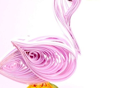 Haz un Bonito Pato con Filigrana de Papel - Hazlo tu Mismo Manualidades - Guidecentral
