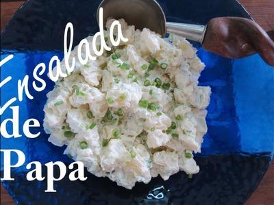 La Ensalada de Papa con Mayonesa más Fácil y Deli