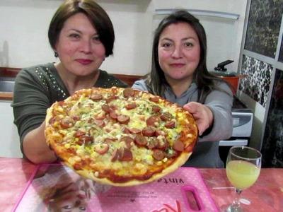 MASA DE PIZZA BASICA - Silvana Cocina y Manualidades