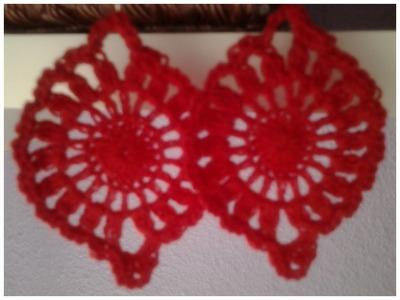 Pendientes vintage a crochet #tutorial DIY