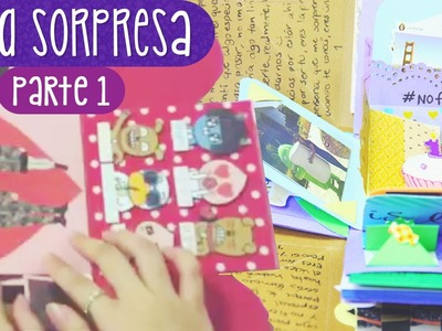REGALA UNA CAJA SORPRESA - Tutorial Parte 1 (Exploding Box) ✎ Craftingeek