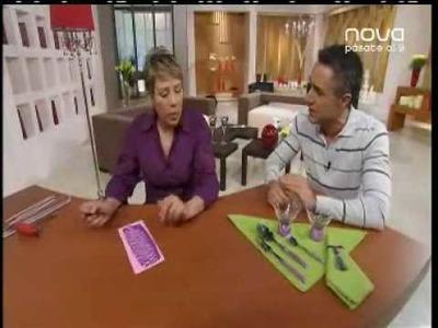 Utilísima Bien Simple, Nova, Aplicación arcilla polimérica en cubertería, Chama Navarro