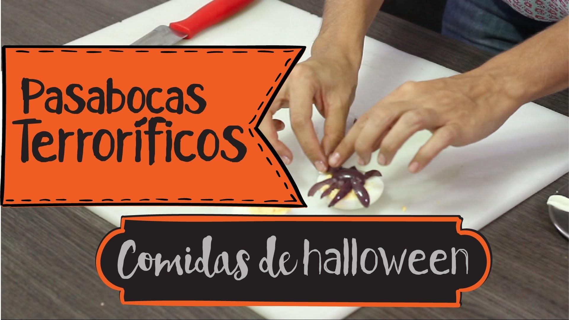 #3 DIY - Comidas Terroríficas para Halloween (Especial Decoración de Halloween)