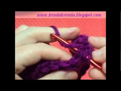 Clase 4: Punto alto. Lesson 4: Double crochet stitch
