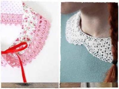 Cuello circular a crochet