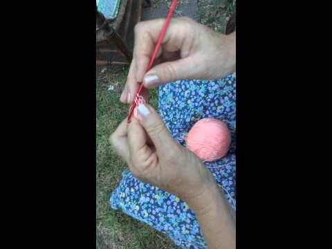 DIY - Cómo hacer círculo mágico en crochet. magic circle crochet