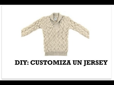 DIY Customiza un jersey
