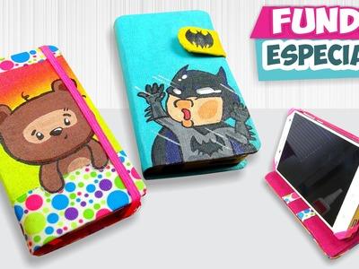 DIY✔ FUNDAS CASERAS - Dibujadas!!  (Especial 2) ★Así o más fácil★