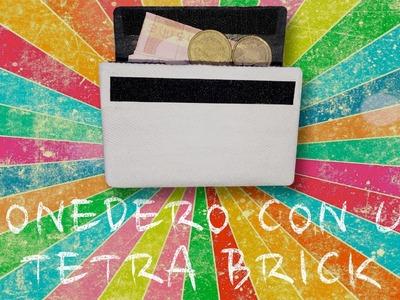 DIY - Monedero con un Tetra Brick súper sencillo