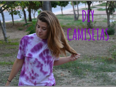 DIY TIE-DYED SHIRTS ¡A teñir camisetas! | María Lewis♡