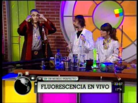 Fluorescencia en el programa de Pettinato