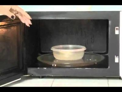 Hágalo fácil: Limpiar microondas rápidamente