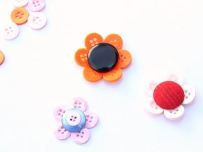 Haz Coloridas Flores con Botones - Hazlo tu Mismo Manualidades - Guidecentral