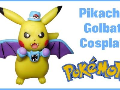 Pokemon | Pikachu Golbat Cosplay Polymer Clay Tutorial | Porcelana Fría ★ Plastilina