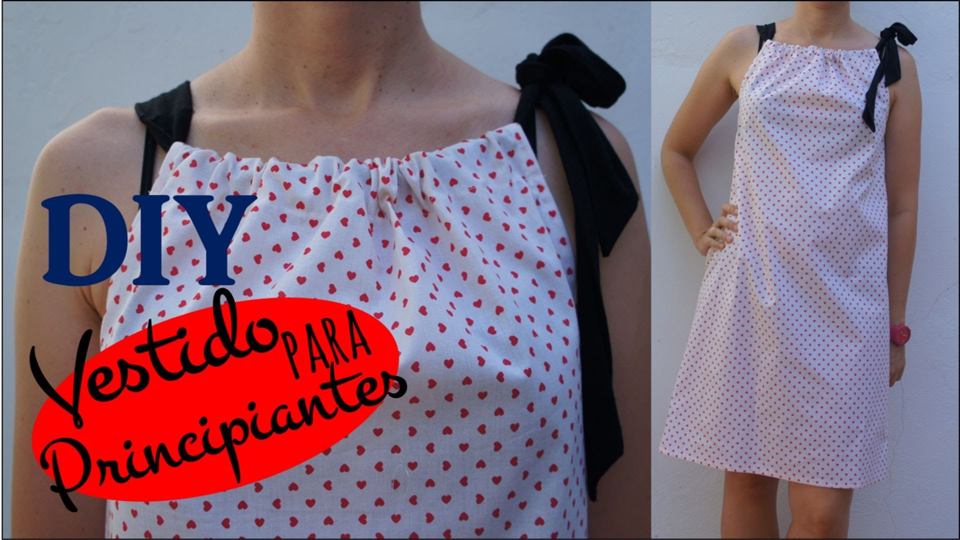 Tutorial DIY. Vestido pillow dress para principiantes ( patrón incluido )