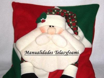 COJIN NAVIDEÑO, MUÑECOS NAVIDEÑOS, DOLLS CHRISTMAS. CUSHION CHRISTMAS #cojinnavideño