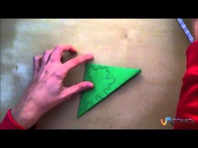 Cómo hacer un soporte verde para velas