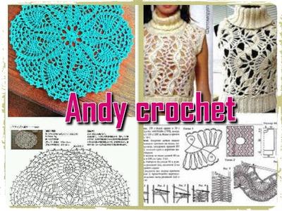 COMO INTERPRETAR ESQUEMAS  EN CROCHET   Andy crochet