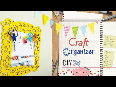 Craft Organizer.Organizador de material para manualidades