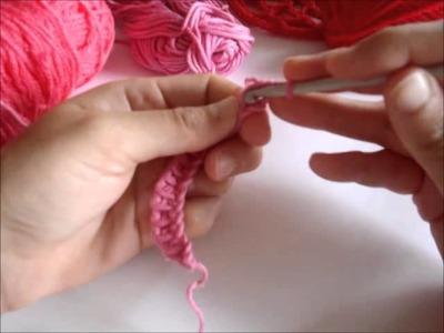 Crochet tunecino. Punto Básico