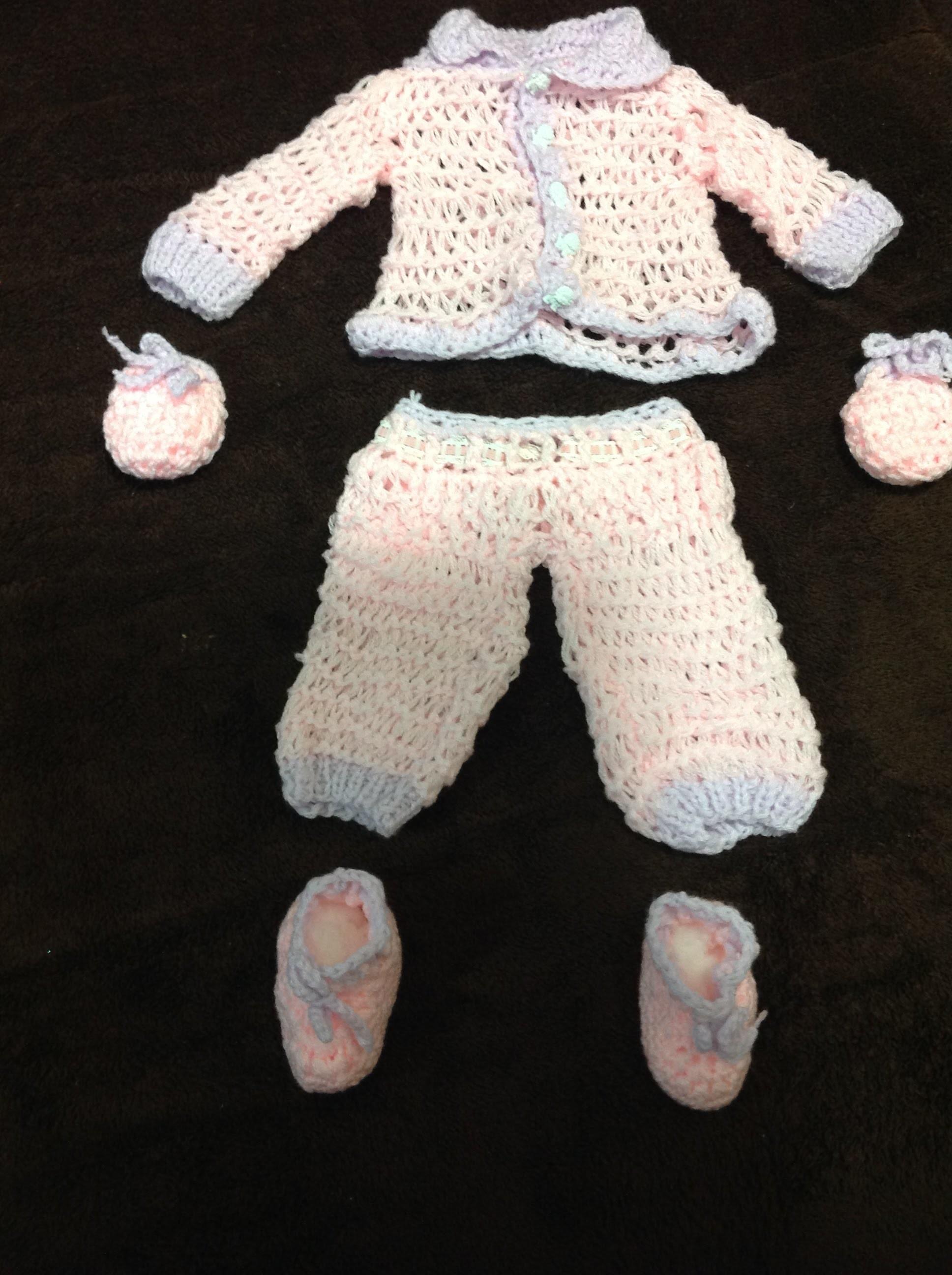Crochet Zapatitos tejidos para bebé muy fácil