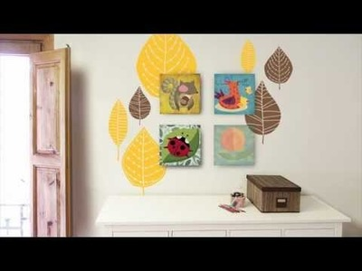 Cuadros infantiles + vinilos decorativos | miraentuinterior