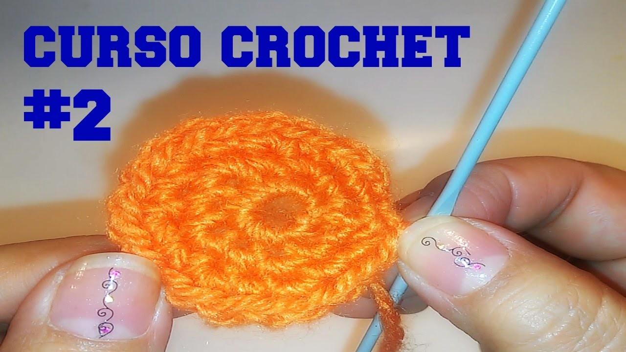 CURSO CROCHET #2, ANILLO.