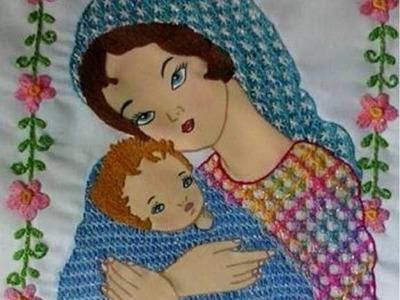La Magia del Bordado Proyecto Dia de la Madre