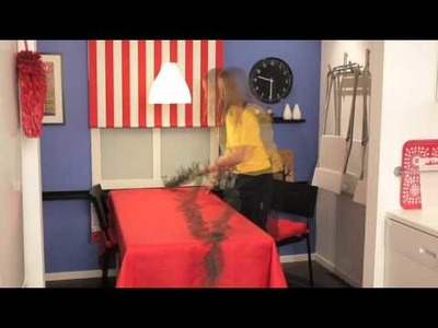 Mesas plegables para Navidad. Video consejos IKEA 21