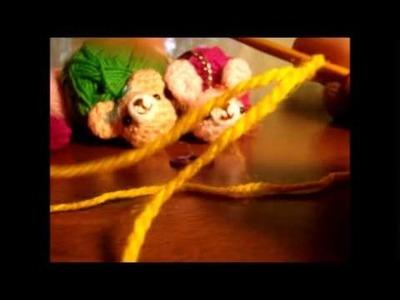 Puntos Básicos de Crochet .  Punto Cadena
