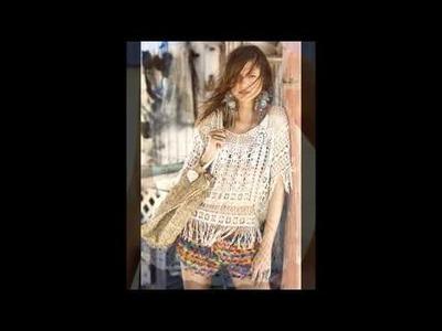 Ropa de mujer verano tejida en crochet ( imagenes )