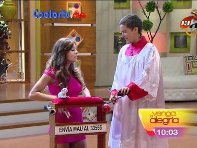 Tania Rincon Tanga Marcada Microvestido Rosa HD