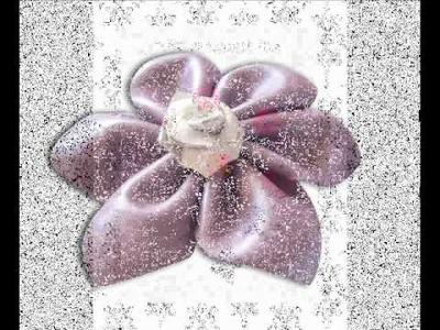 Anabel Rodriguez cursos de flores en tela y cuero