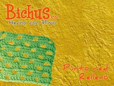 Bichus - Ganchillo Puntos Simples - Punto Red Relleno