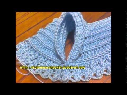 Camperita WOVEN BABY CROCHET, tejidos crochet, ganchillo,
