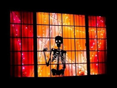 ¿Cómo decorar las ventanas para Halloween?