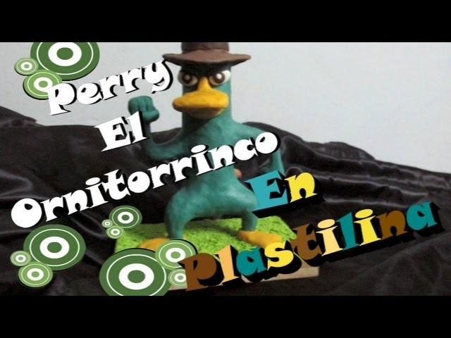 COMO HACER A PERRY EL ORNITORRINCO PLASTILINA PASO A PASO TUTORIAL CLAYMATION