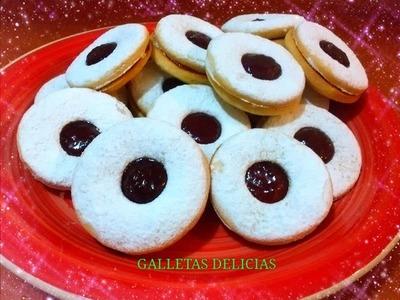 COMO HACER GALLETAS DELICIAS - Silvana Cocina y Manualidades