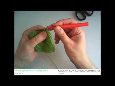 Como hacer una colcha en crochet o ganchillo