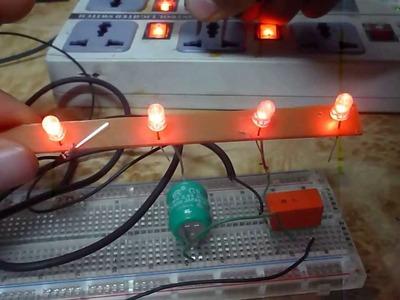 Como hacer una luz de emergencia cacera   con cargador de celular facil