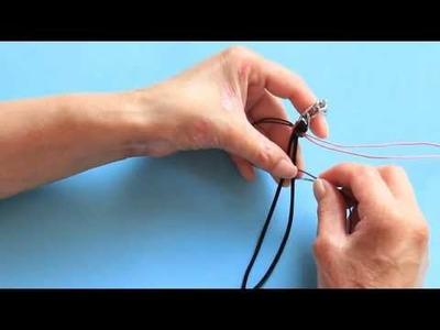 Cómo hacer una pulsera de trenza y cadena | Tutorial DIY