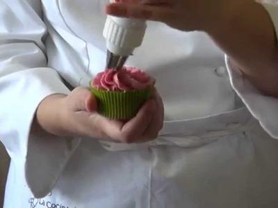 Curso de Cupcakes: Decoración en Espiral