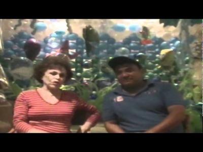 DECORACION CON GLOBOS LA #1 DE MEXICO EMMA ALVAREZ  AMAG