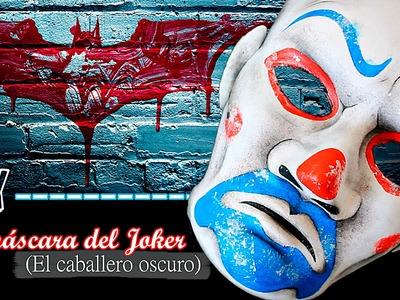 DIY | La máscara del Joker (El Caballero Oscuro)